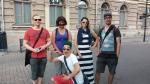 Pentti, Pennit(sp.), Krista, Jeremy, Jarkko